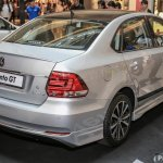 VW Vento GT rear three quarters