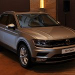 Volkswagen Tiguan launch India front three quarter