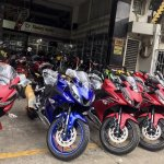 Yamaha R15 v3.0 Vietnam dealership front