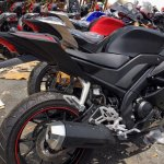Yamaha R15 v3.0 Vietnam dealership rear three quarter