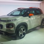 2017 Citroen C3 Aircross front three quarters left side third image