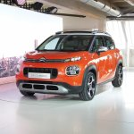 2017 Citroen C3 Aircross front three quarters left side