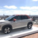 2017 Citroen C3 Aircross front three quarters scenic
