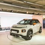 2017 Citroen C3 Aircross front three quarters