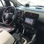 2017 Citroen C3 Aircross interior dashboard