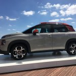 2017 Citroen C3 Aircross left side scenic image