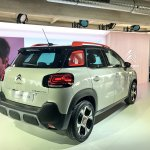 2017 Citroen C3 Aircross rear three quarters