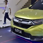 2017 Honda CR-V front fascia