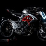 2017 MV Agusta Brutale 800 grey front three quarter right