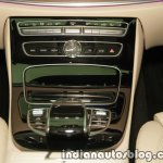 2017 Mercedes E 220 d LWB center console launched in India