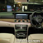 2017 Mercedes E 220 d LWB dashboard launched in India