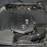 2017 Mercedes E 220 d LWB engine bay launched in India