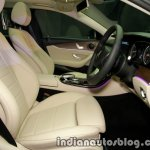 2017 Mercedes E 220 d LWB front cabin launched in India