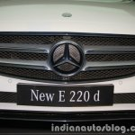 2017 Mercedes E 220 d LWB grille launched in India