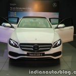 2017 Mercedes E 220 d LWB headlamp launched in India