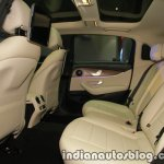 2017 Mercedes E 220 d LWB rear cabin launched in India
