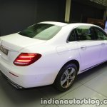 2017 Mercedes E 220 d LWB rear quarter launched in India
