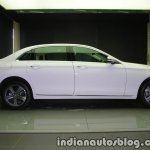 2017 Mercedes E 220 d LWB side launched in India