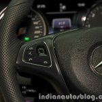 2017 Mercedes E 220 d LWB steering touchpads launched in India
