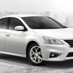 2017 Nissan Sylphy facelift front three quarter Thailand