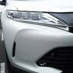 2017 Toyota Harrier new headlamp and bumper en route to dealerships in Japan