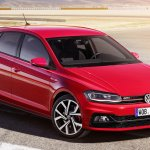 2017 VW Polo GTI front three quarters leaked image