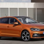 2017 VW Polo R-Line front three quarters leaked image