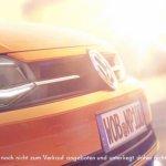2017 VW Polo front fascia teaser