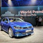 2017 VW Polo front three quarters live image