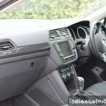 2017 VW Tiguan dashboard First Drive Review