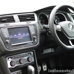 2017 VW Tiguan driver area First Drive Review