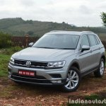 2017 VW Tiguan front quarter left First Drive Review