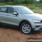 2017 VW Tiguan front three quarter right First Drive Review