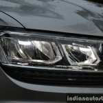 2017 VW Tiguan headlamp First Drive Review