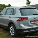 2017 VW Tiguan rear quarter First Drive Review