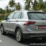 2017 VW Tiguan rear quarter road First Drive Review