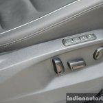 2017 VW Tiguan seat controls First Drive Review