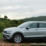 2017 VW Tiguan side view First Drive Review