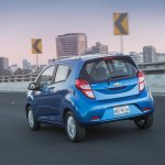 2018 Chevrolet Beat rear three quarters in motion