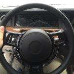 2018 Rolls-Royce Phantom dashboard driver side spy shot