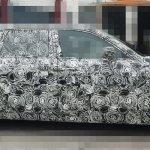 2018 Rolls-Royce Phantom profile spy shot