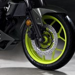 2018 Yamaha MT-03 Europe studio fluorescent front wheel