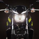 2018 Yamaha MT-03 Europe studio fluorescent headlamp