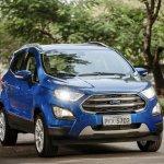 Brazilian-spec 2018 Ford EcoSport front three quarters right side