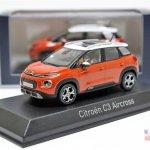 Citroen C3 Aircross front three quarters scale model