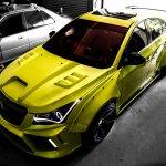 Custom Chevrolet Cruze Widebody by 360 Motoring top view