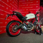 Ducati Monster 797 India launch rear three quarter