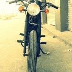Hero Honda 100 cc custom bike by Ayas Custom Motorcycle front