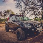 Isuzu D-Max V-Cross XS-09 by XS Overland front three quarter