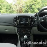 Jeep Compass dashboard view review